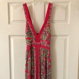 INC maxi dress- large